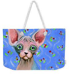 Cute Sphynx Weekender Tote Bag