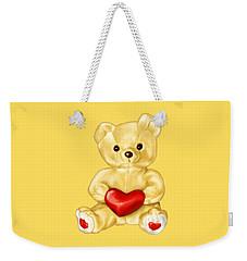 Cute Teddy Bear Hypnotist Weekender Tote Bag