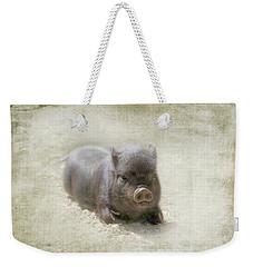 Cuteness Incarnate Weekender Tote Bag by Marilyn Wilson
