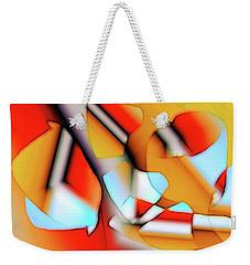 Cutouts Weekender Tote Bag by Ron Bissett