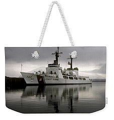 Cutter In Alaska Weekender Tote Bag by Steven Sparks
