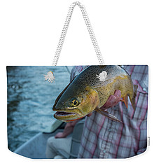 Cutthroat Trout Weekender Tote Bag by Ron White