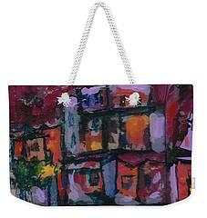 Cyan Skies Weekender Tote Bag