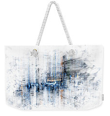 Cyber City Design Weekender Tote Bag