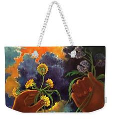Cycle Of Life  Hands Ot Heaven Series Weekender Tote Bag