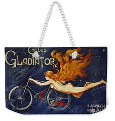 Cycles Gladiator  Vintage Cycling Poster Weekender Tote Bag