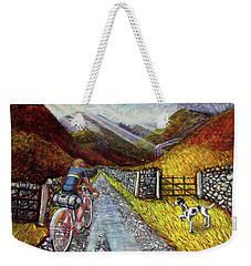 Lancashire Lanes 3 Weekender Tote Bag by Mark Jones