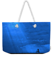 Cycling Into Sunrays No. 2 Weekender Tote Bag