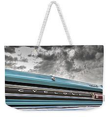 Cyclone Weekender Tote Bag by Caitlyn Grasso