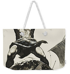 Cyclops Weekender Tote Bag by Angus McBride