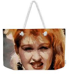 Cyndi Lauper Weekender Tote Bag