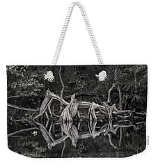 Weekender Tote Bag featuring the photograph Cypress Design by Steven Sparks