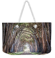 Weekender Tote Bag featuring the photograph Cypress Embrace by Everet Regal