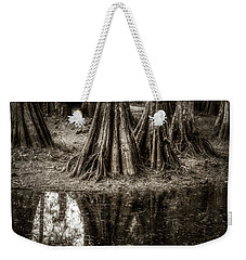 Cypress Island Weekender Tote Bag by Andy Crawford