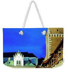 Weekender Tote Bag featuring the photograph Czartoryski Museum by Fabrizio Troiani