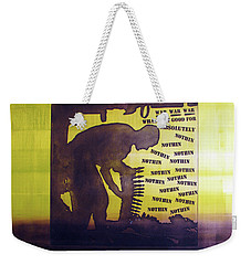 D U Rounds Project, Print 15 Weekender Tote Bag