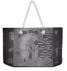 D U Rounds Project, Print 33 Weekender Tote Bag