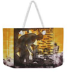 D U Rounds Project, Print 49 Weekender Tote Bag
