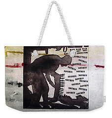 D U Rounds Project, Print 8 Weekender Tote Bag