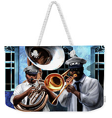 Da New Orleans Two Weekender Tote Bag