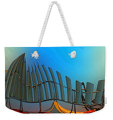 Da Vinci's Outpost Weekender Tote Bag