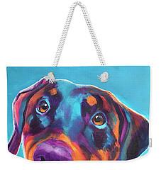 Doberman - Annie Weekender Tote Bag