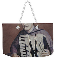 Daddy And His Accordion Weekender Tote Bag