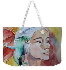 Daenerys Targaryen Born Dragon  Weekender Tote Bag