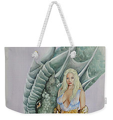 Daenerys Targaryen - Game Of Thrones Weekender Tote Bag