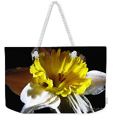 Weekender Tote Bag featuring the photograph Daffodil 2 by Rose Santuci-Sofranko
