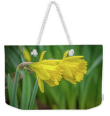 Daffodil Doppelganger Weekender Tote Bag