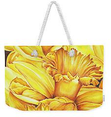 Daffodil Drama Weekender Tote Bag