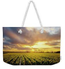 Daffodil Sunset Weekender Tote Bag