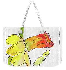 Daffodils In January Weekender Tote Bag by Pat Katz