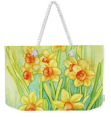 Daffodils In Yellow Weekender Tote Bag