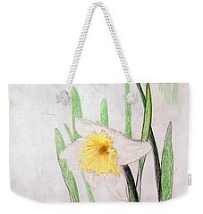 Daffodils Weekender Tote Bag by J R Seymour