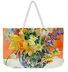 Daffs And Daisies Weekender Tote Bag