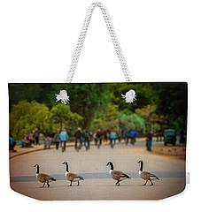 Daffy Road Weekender Tote Bag