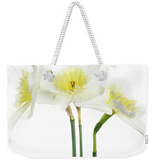 Weekender Tote Bag featuring the photograph Dafs by Rebecca Cozart