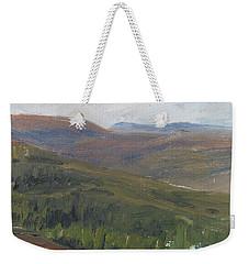 Dagrar Over Salenfjallen - Shifting Daylight Over Distant Horizon 1 Of 10_0034 50x50 Cm Weekender Tote Bag