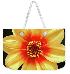 Dahilias Flower Up Close Weekender Tote Bag