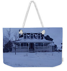 Weekender Tote Bag featuring the photograph Dahl House by Gene Gregory