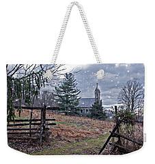 Dahlgren Chapel Winter Scene Weekender Tote Bag