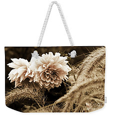 Dahlia After A Shower Weekender Tote Bag