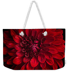Dahlia 'american Beauty' Weekender Tote Bag