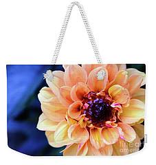 Dahlia Beauty Weekender Tote Bag by Debby Pueschel