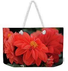 Dahlia Bloomer Weekender Tote Bag