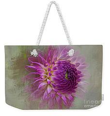 Dahlia Dream Weekender Tote Bag