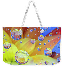 Dahlia Galaxy Two Weekender Tote Bag