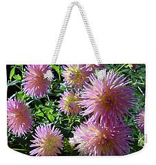 Dahlia Group Weekender Tote Bag
